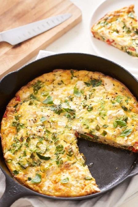 شام امشب:فریتاتای سبزیجات