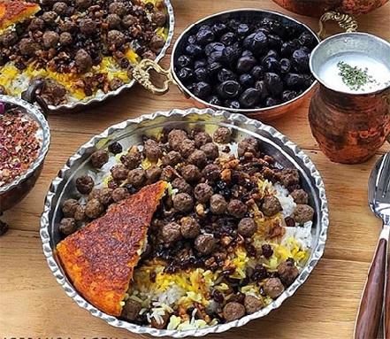 آموزش 3پلو خوشمزه شیرازی