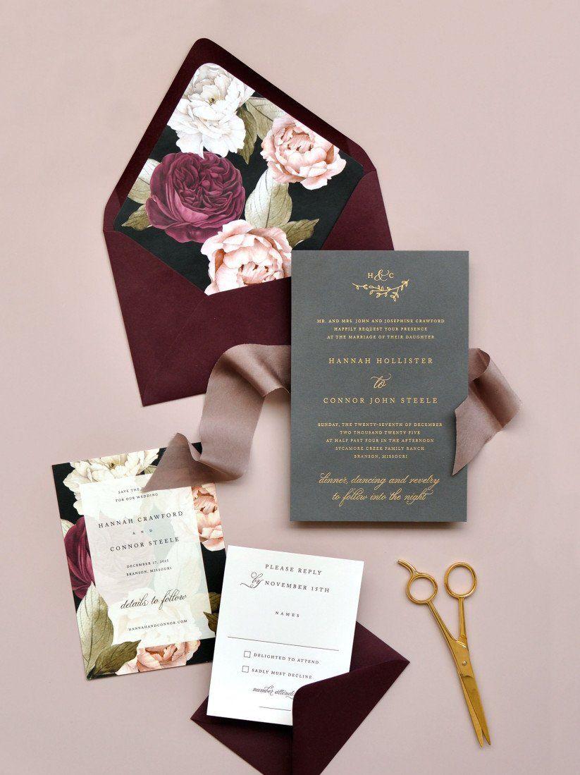 کارت عروسی ساده