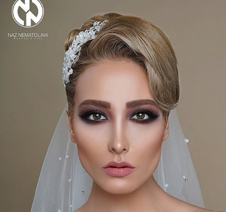 مدل آرایش عروس به سبک ایرانی