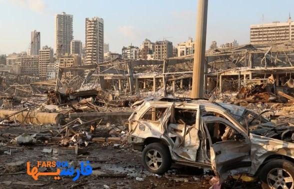 تصاویری از انفجار مهیب و آخرالزمانی بندر بیروت