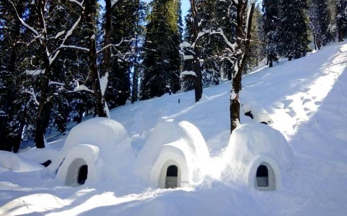 ساختار خانه اسکیموها