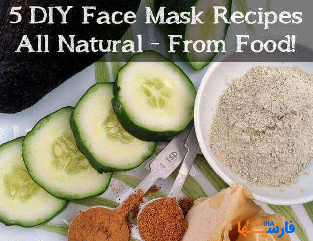 آموزش چند مدل ماسک برای مو و پوست