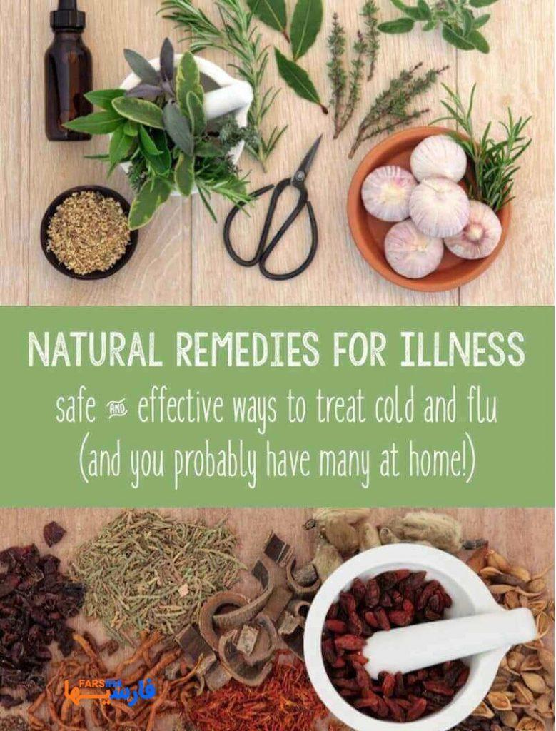 چند پیشنهاد گیاهی خوب برای درمان سرماخوردگی و سرفه