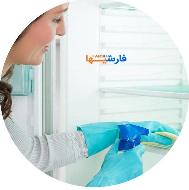 تمیز کردن آشپزخانه