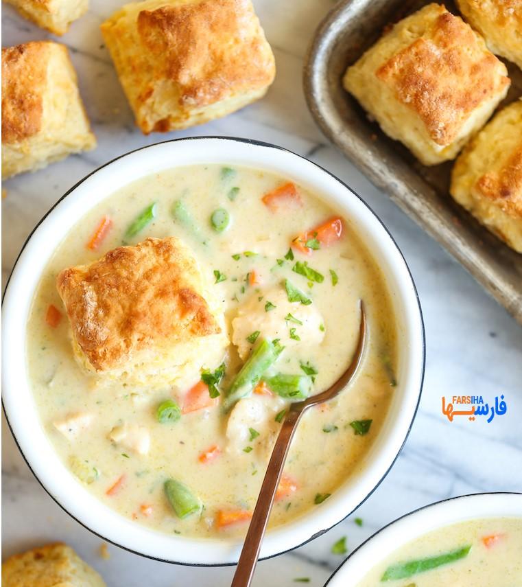 طرز تهیه سوپ خوشمزه