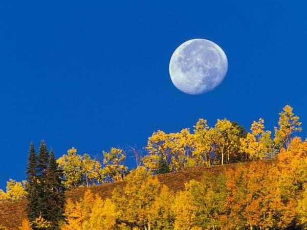 علت دیدن ماه در روز
