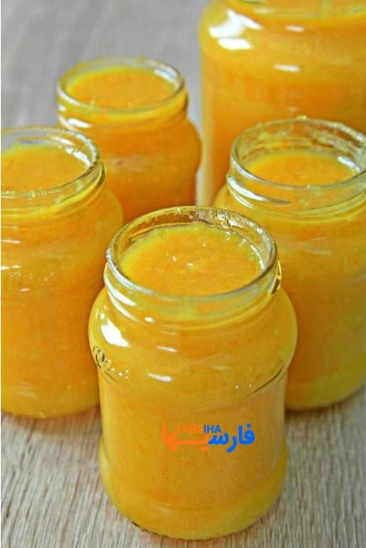دسر مارمالاد نارنجی