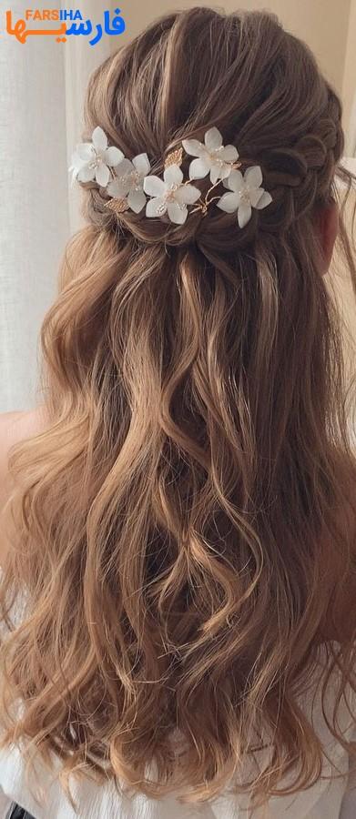 شنیون های ساده اما زیبا برای موهای بلند(3)