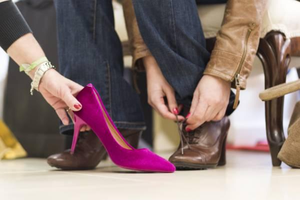 عوارض کفش پاشنه بلند