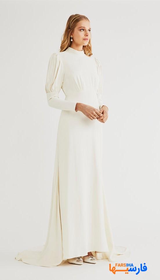 لباس نامزدی سفید
