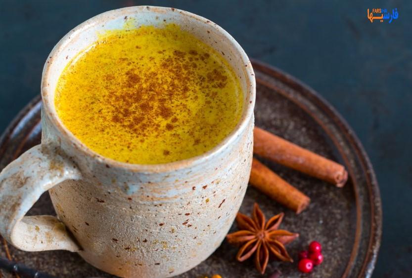 یک لیوان شیر طلایی،معجونی برای همه فصول