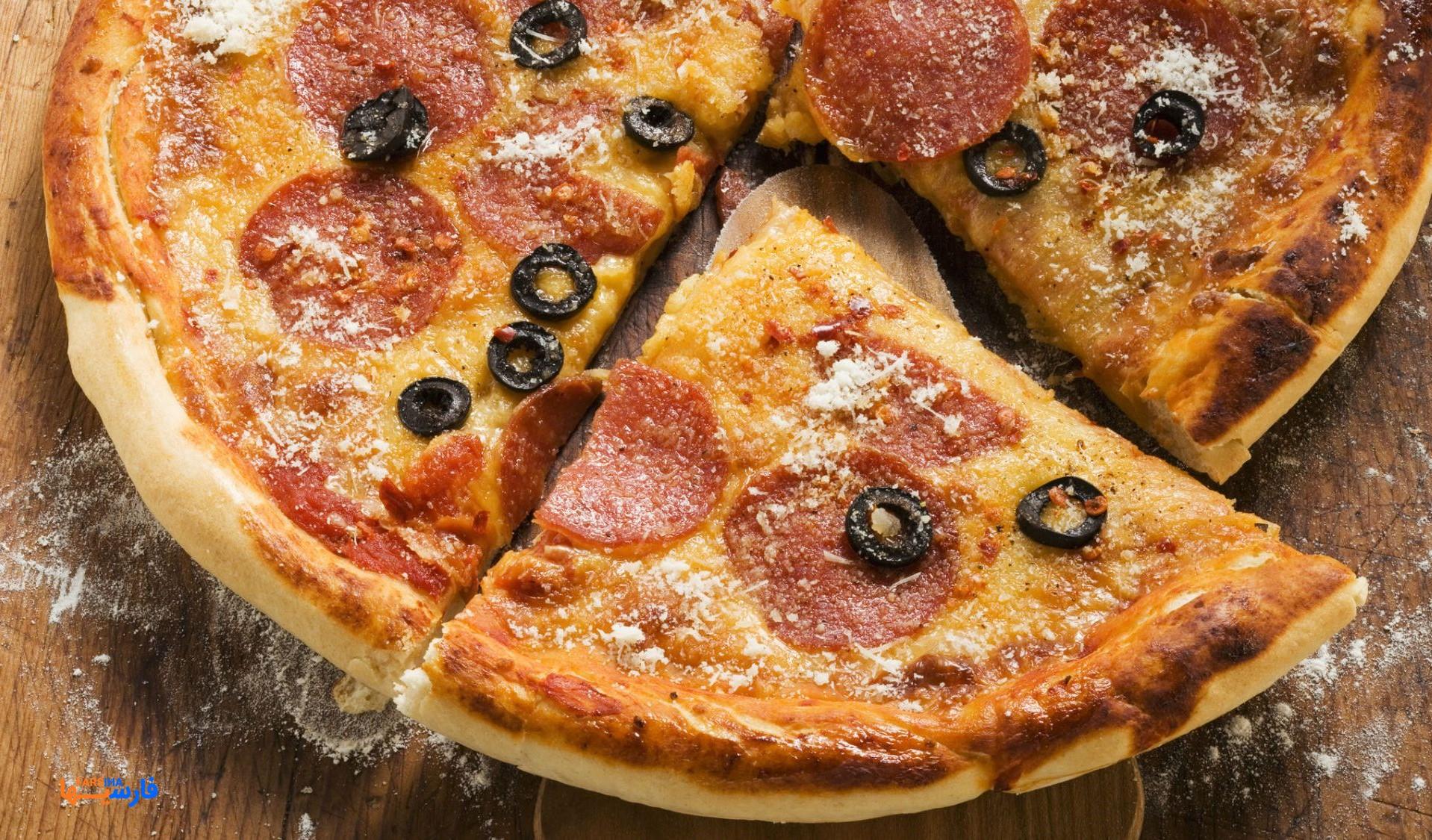 طرز تهیه پیتزای خوشمزه