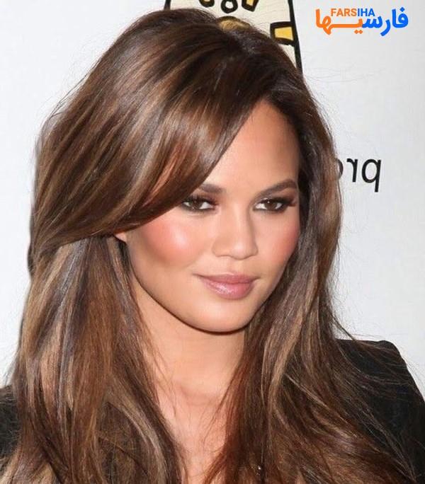 مدل مو صورت گرد