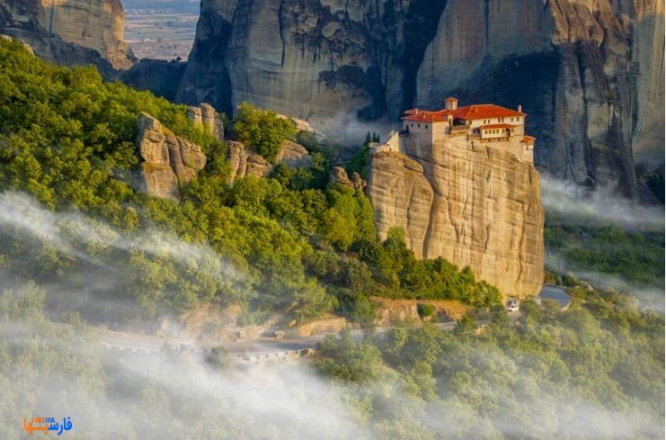 10 شهر زیبای یونان