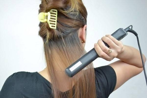 اتو کردن مو