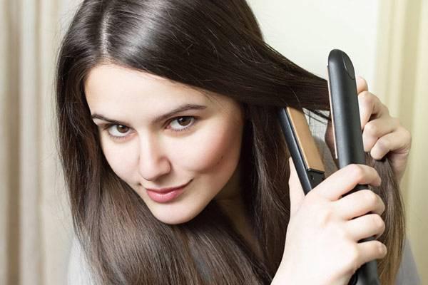 روش اتو کشیدن مو