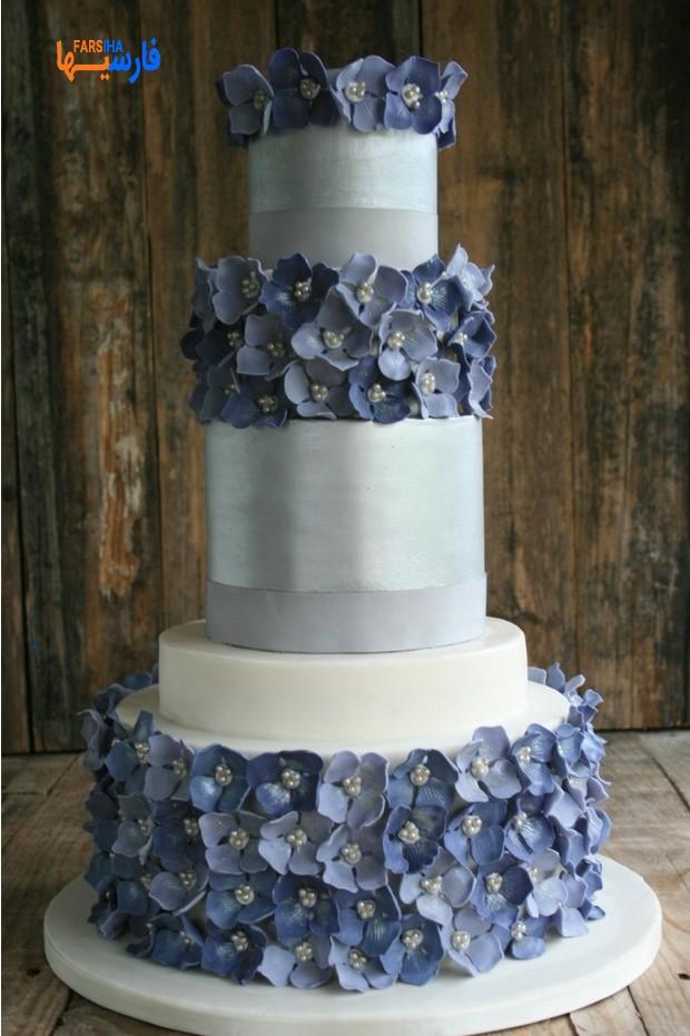 کیک عروسی طبقه ای