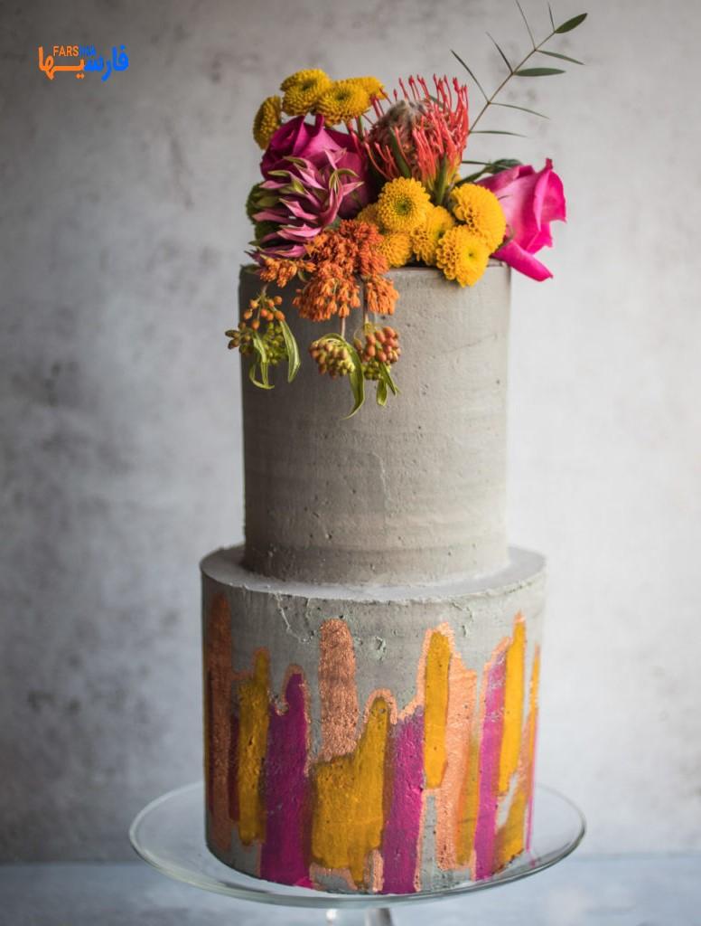 کیک عروسی جدید