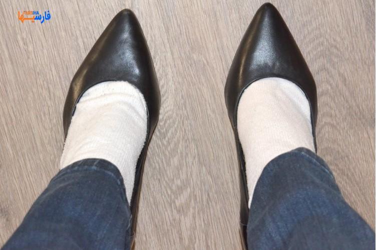 7 راه ساده برای گشاد کردن کفش