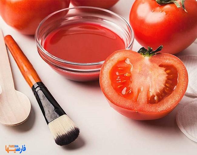 ماسک گوجه فرنگی و عسل برای پوستی بدون آکنه و درخشان