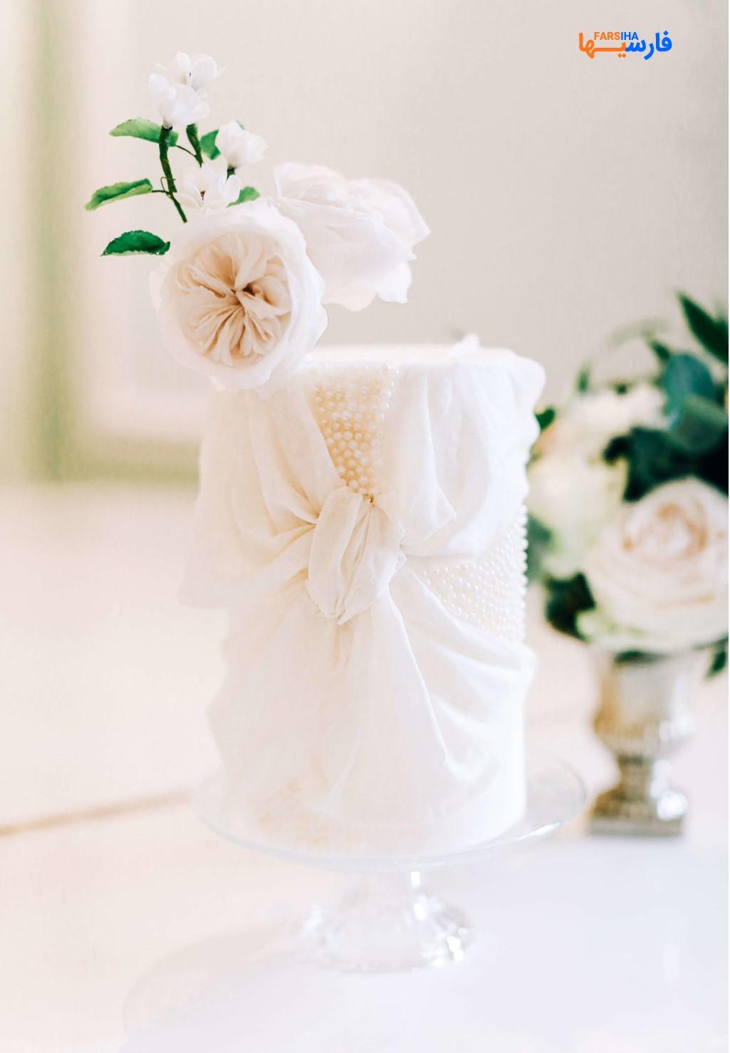 کیک عروسی ساذه