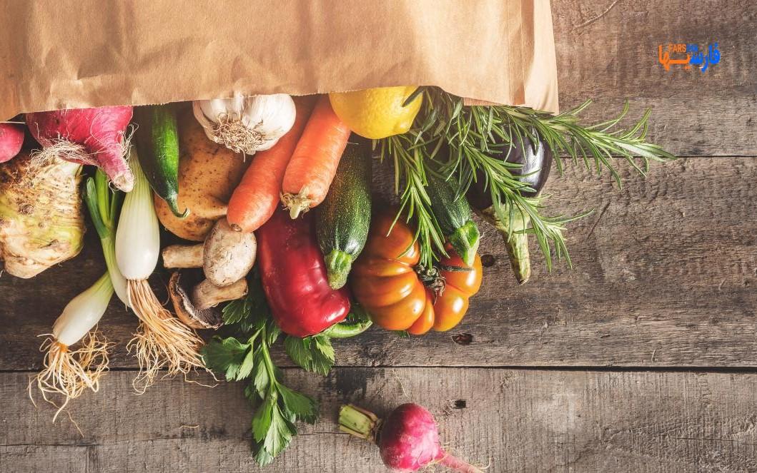 تازه نگه داشتن سبزی و میوه