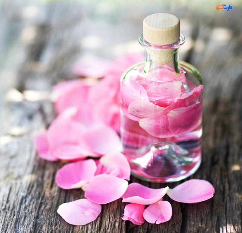 استفاده از گلاب برای مراقبت از پوست