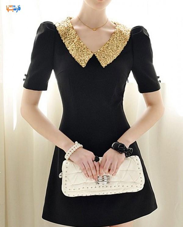مدل پیراهن مشکی برای مهمانی ها • مجله آنلاین فارسی ها مدل پیراهن مشکی