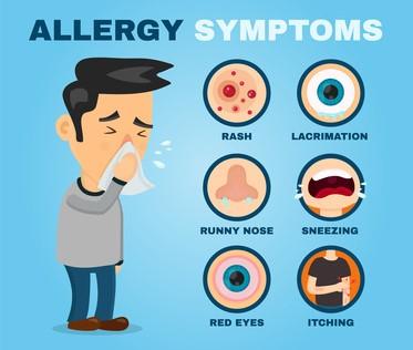 علائم آلرژی چیست؟