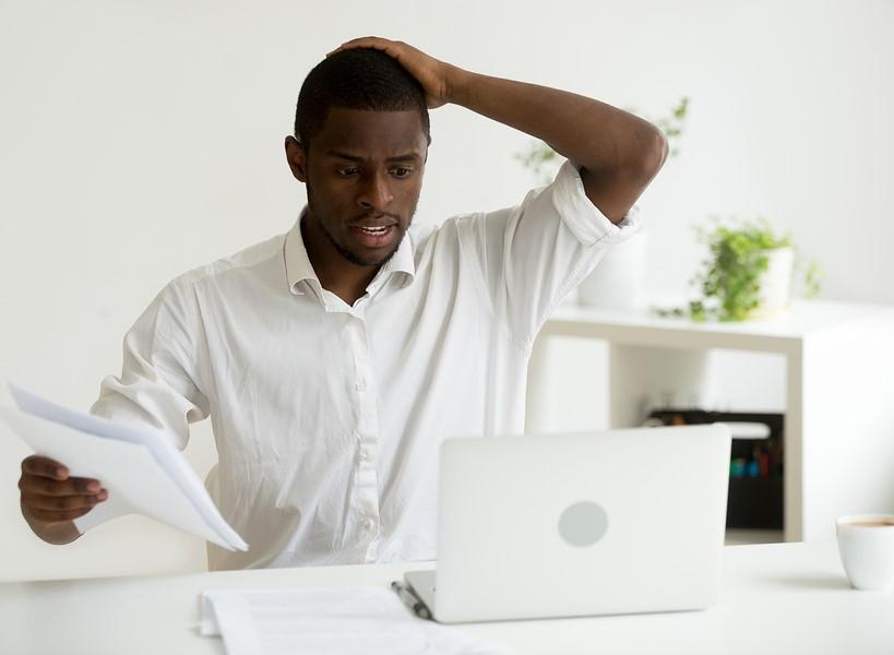 اشتباه های تجاری در کسب و کار