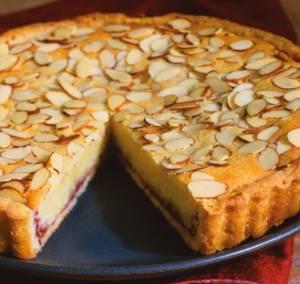 How to make single almond tart