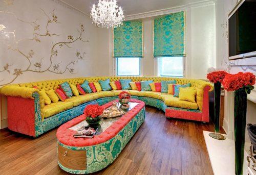Treat depression with interior decoration
