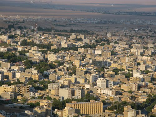 نقشه و شهرستان های استان سمنان