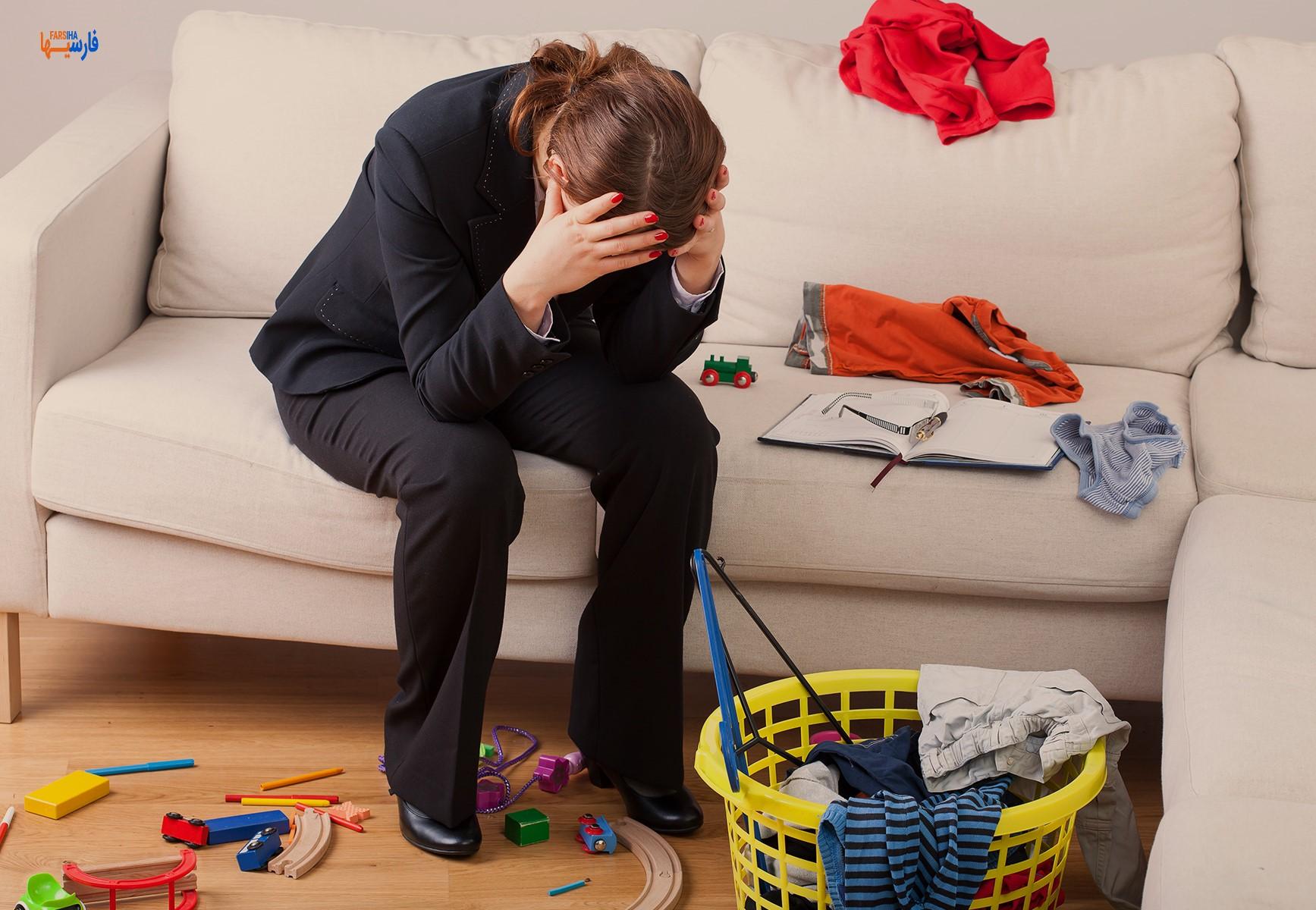 تاثیر شلوغی بر سلامتی روان
