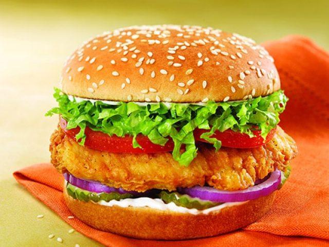 Chicken Hamburger - How to make a tasty chicken burger at home
