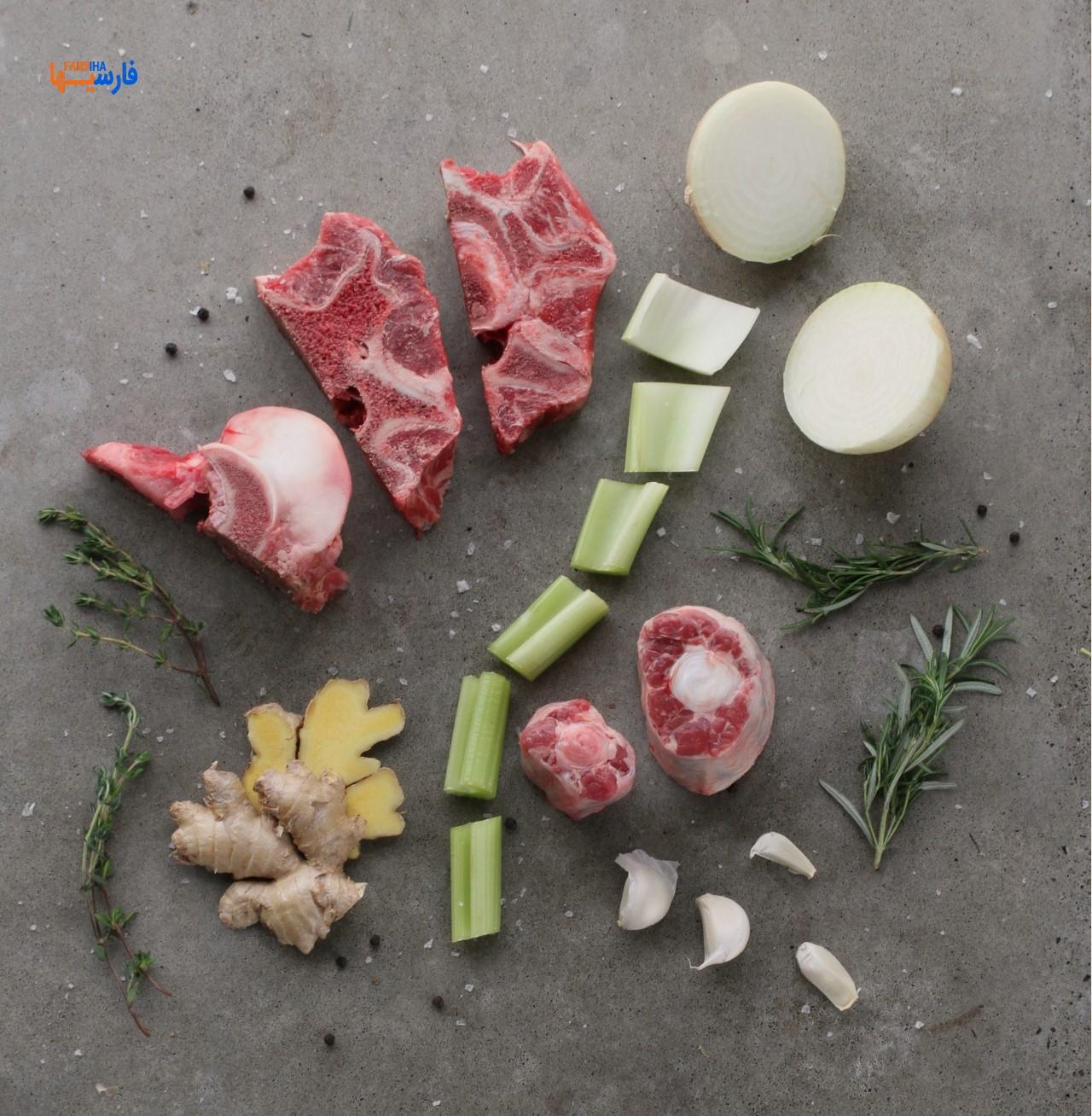 طرز تهیه عصاره گوشت