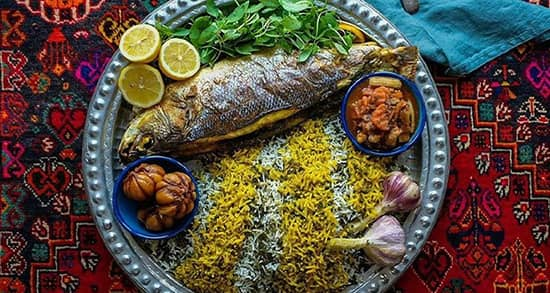 How to prepare vegetable pilaf with fish; Delicious Eid dinner
