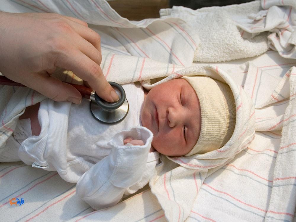 هفته اول زندگی نوزاد