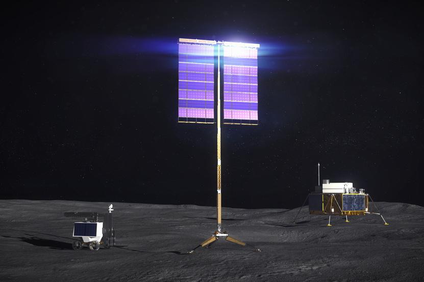 Space based solar energy
