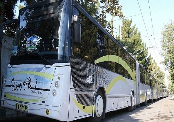 Unveiling of Iran's first electric bus in May