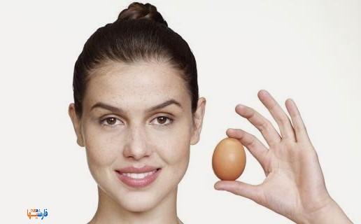 فواید تخم مرغ برای زیبایی