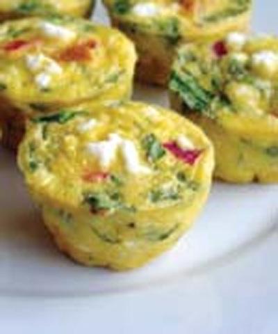 Dietary vegetable muffins