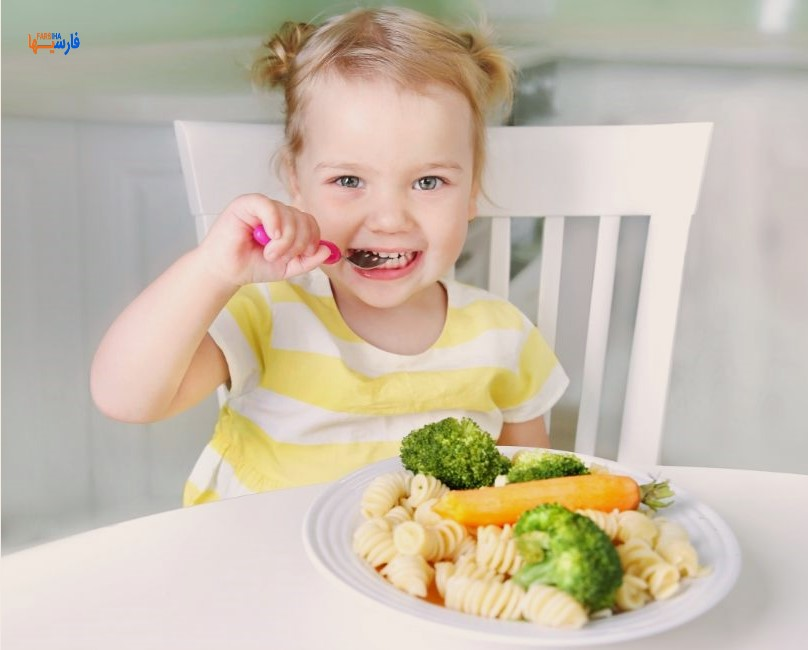 غذای بد برای کودکان