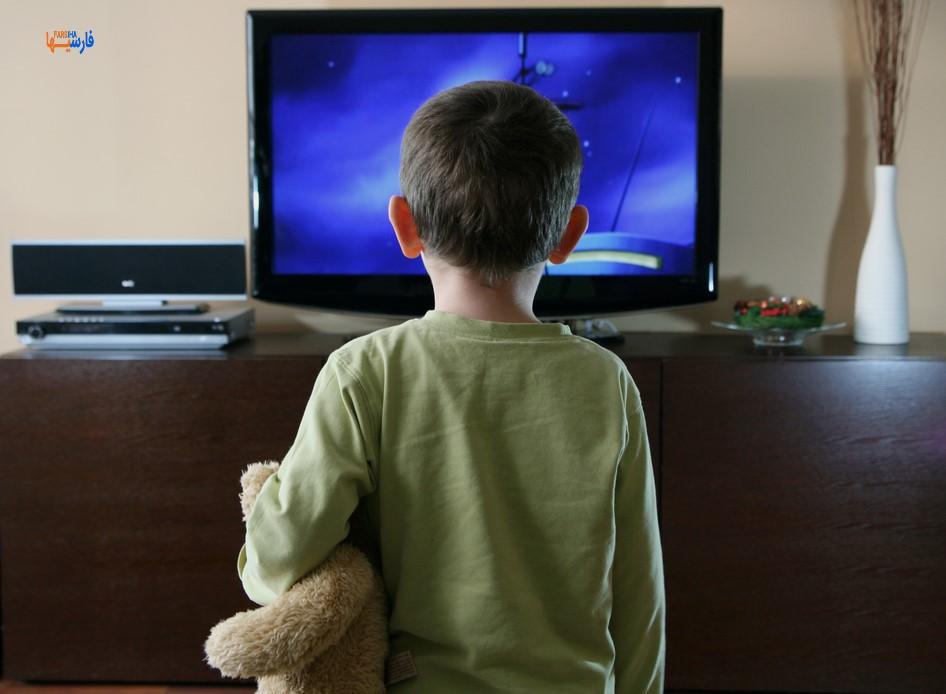 وابستگی کودک به تلوزیون
