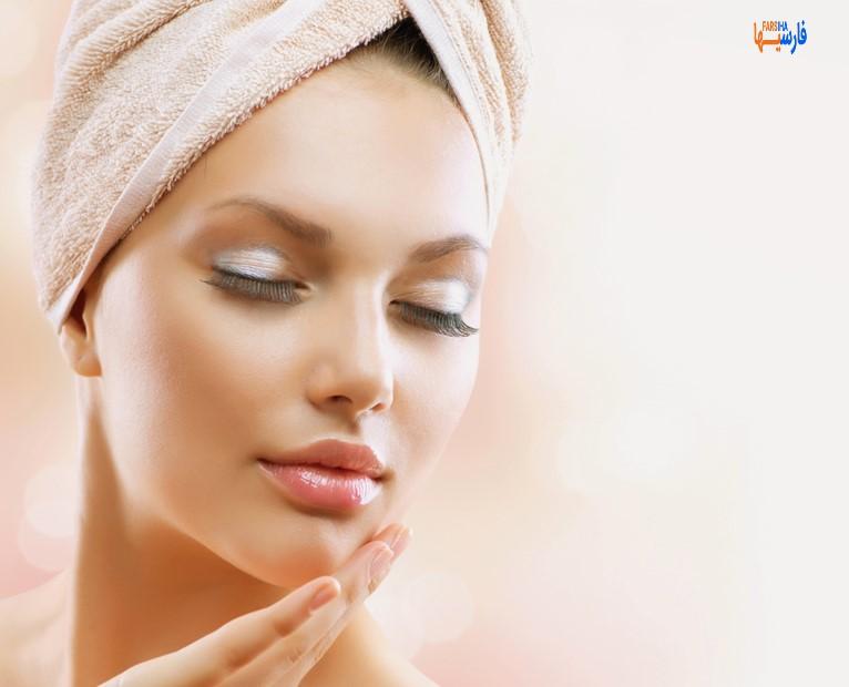 راه درخشش طبیعی پوست صورت