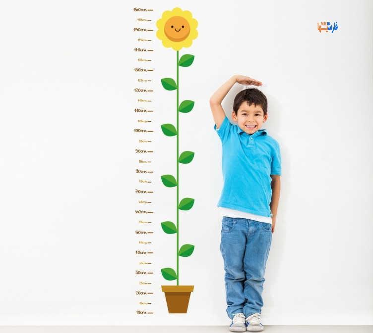 قد بلند شدن کودک