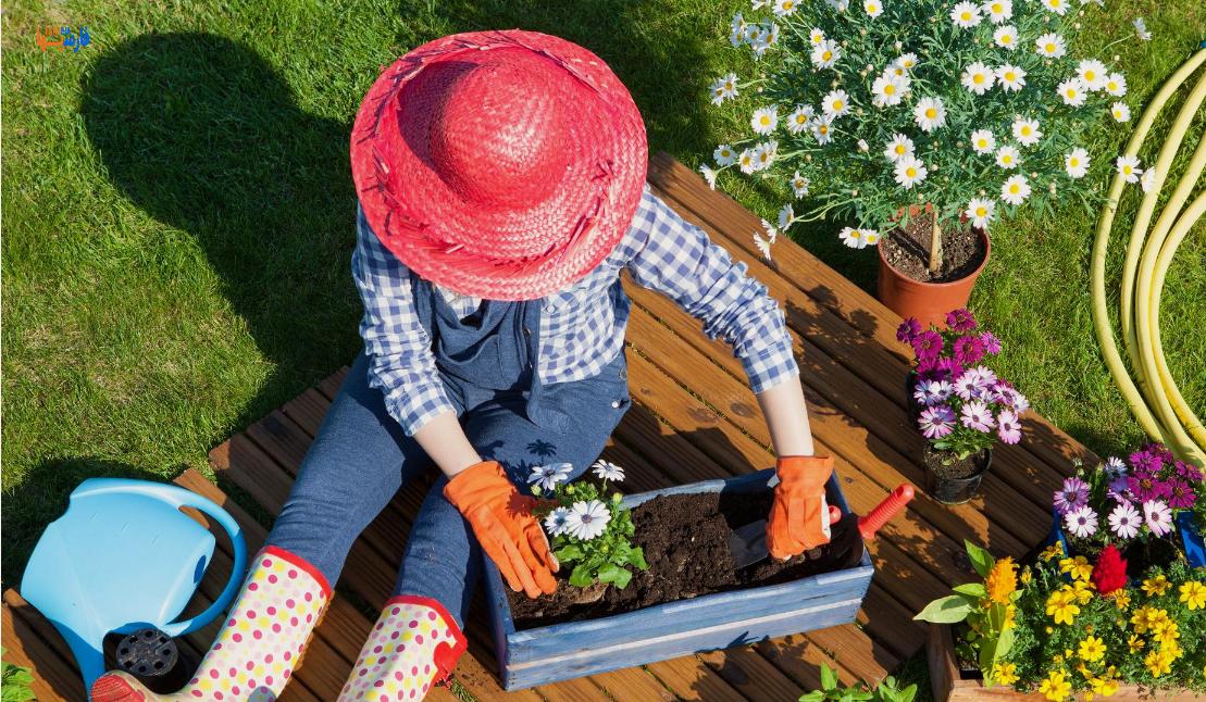 فواید باغبانی