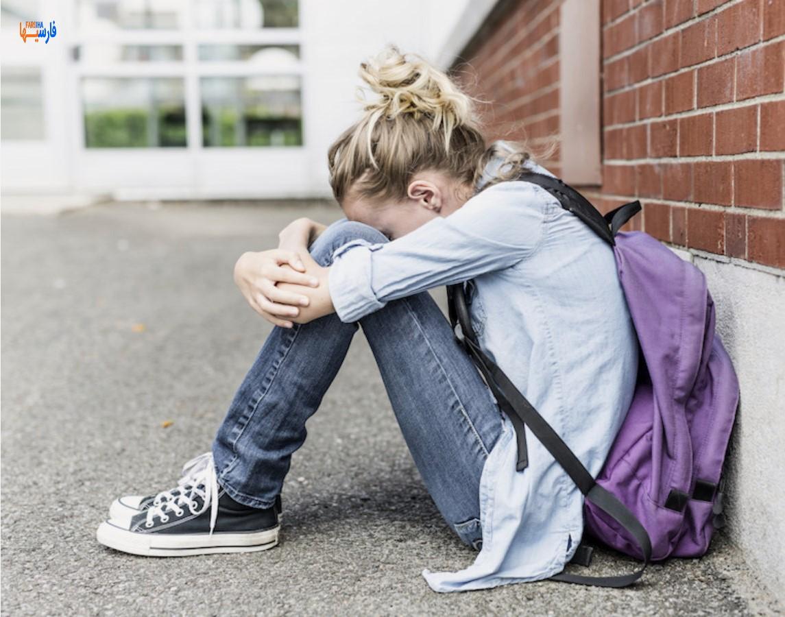 علت افسردگی در نوجوانی