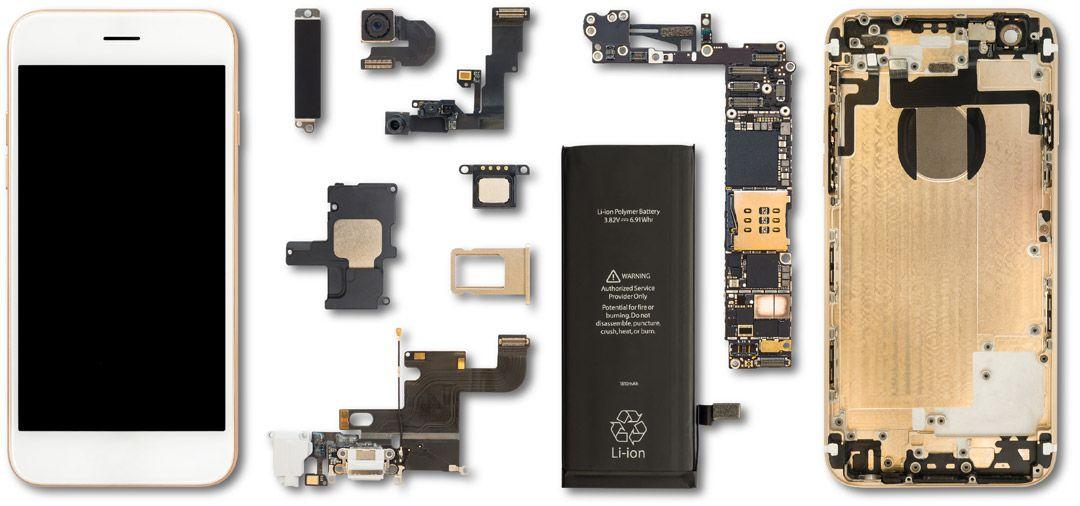 معرفی کامل قطعات موبایل